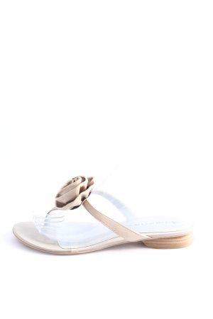 Tamaris Sandalias Dianette crema look casual