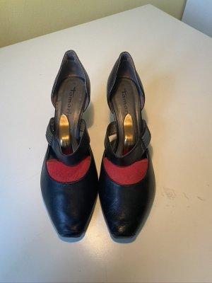 Tamaris Zapatos Informales negro Cuero