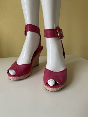 Tamaris Wedge Sandals magenta