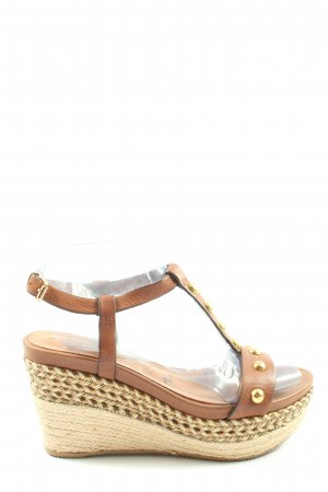 Tamaris Espadrille Sandals brown casual look