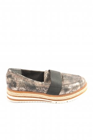 Tamaris Espadrillas motivo animale stile casual