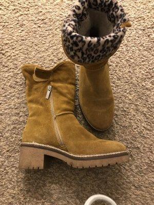 Tamaris Winter boots zandig bruin-goud Oranje