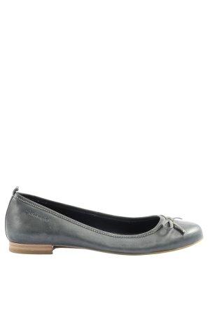 Tamaris Foldable Ballet Flats light grey casual look