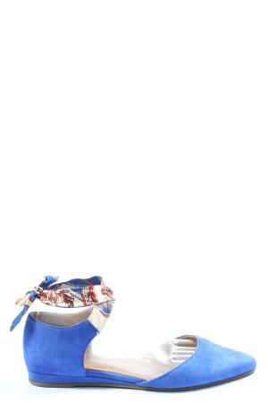 Tamaris Ballerines pliables bleu style décontracté