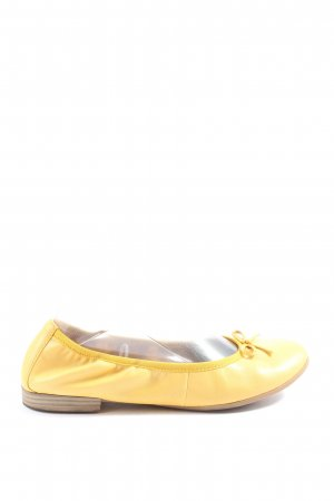 Tamaris Ballerina pieghevole giallo pallido stile casual