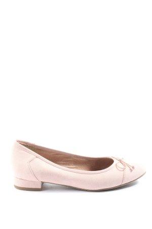 Tamaris faltbare Ballerinas creme Casual-Look