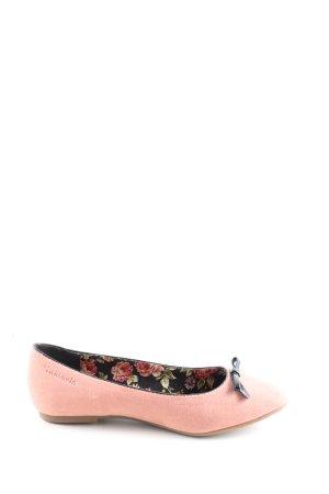 Tamaris Foldable Ballet Flats pink casual look