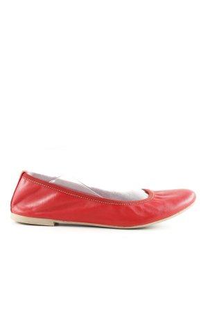 Tamaris faltbare Ballerinas rot Casual-Look