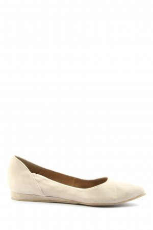 Tamaris Foldable Ballet Flats natural white casual look