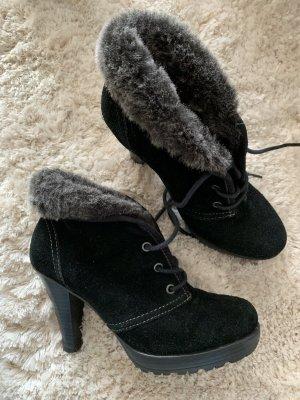 Tamaris Bottine d'hiver noir cuir