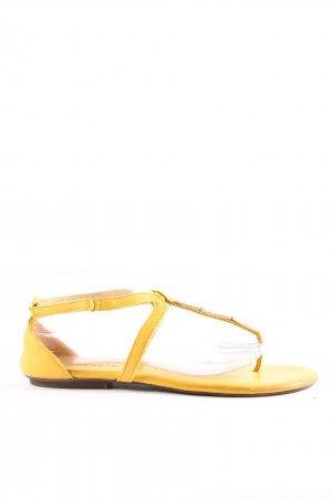 Tamaris Flip-Flop Sandals light orange casual look