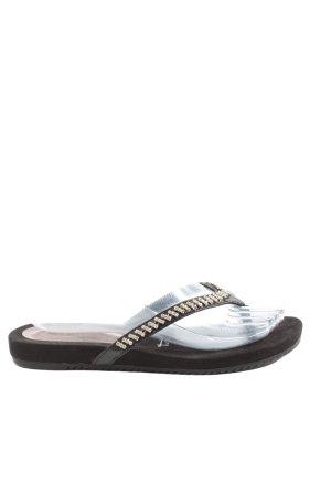 Tamaris Flip-Flop Sandals black elegant