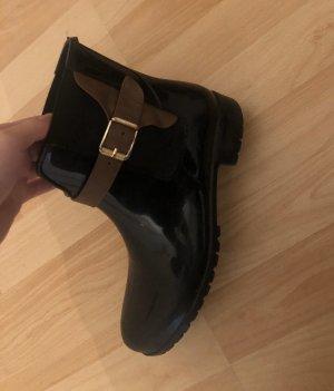 Tamaris Wellington laarzen zwart