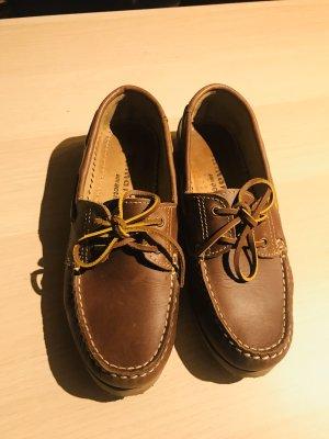 Tamaris Zapatos de marinero marrón