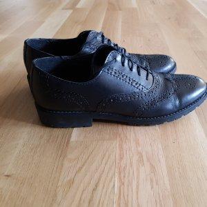 Tamaris Lace Shoes black leather