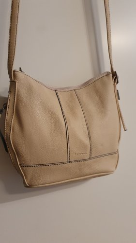 Tamaris Handtasche beige nude creme Umhängetasche