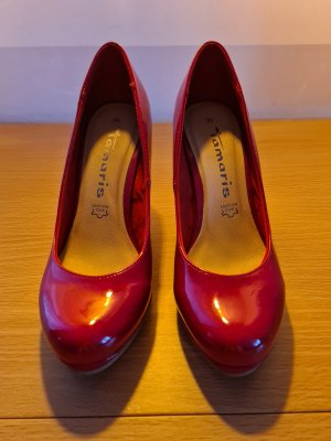 Tamaris High Heels red