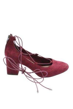 Tamaris High Heel Sandaletten pink Casual-Look