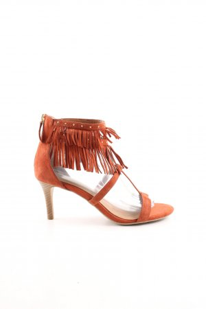 Tamaris High Heel Sandaletten hellorange Casual-Look