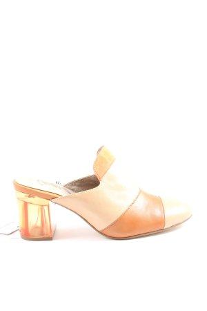 Tamaris High Heel Sandaletten creme-hellorange Casual-Look
