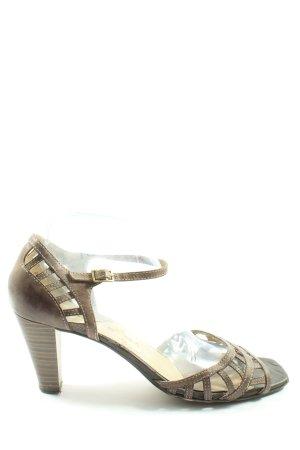 Tamaris High Heel Sandaletten braun Casual-Look
