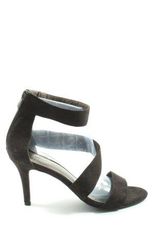 Tamaris High Heel Sandaletten schwarz Casual-Look