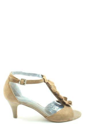 Tamaris Hoge hakken sandalen wolwit elegant