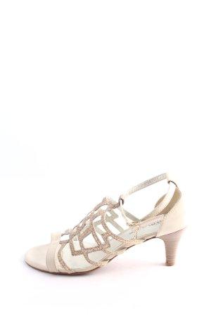 Tamaris High Heel Sandaletten wollweiß Casual-Look