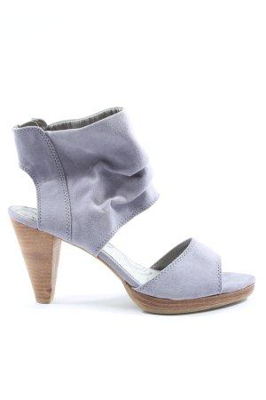 Tamaris High Heel Sandaletten lila Casual-Look