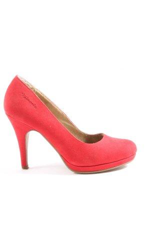 Tamaris High Heels rot Casual-Look