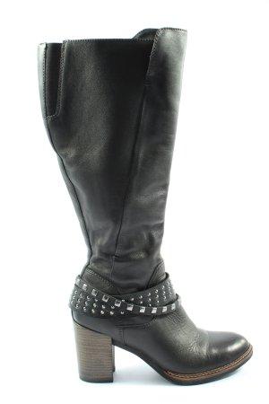Tamaris High Heel Stiefel schwarz Casual-Look