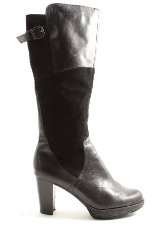 Tamaris Wysokie buty na obcasie brązowy W stylu casual