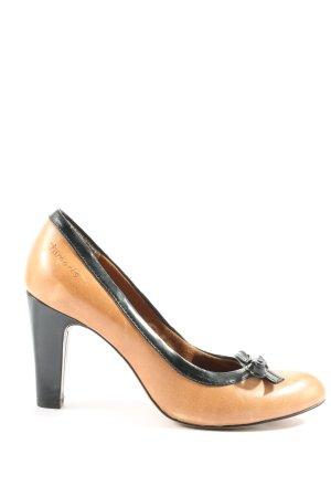 Tamaris High Heels schwarz-braun Casual-Look