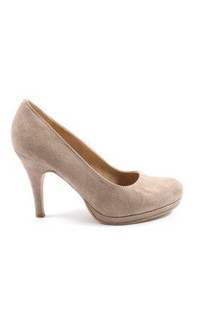 Tamaris High Heels creme Casual-Look