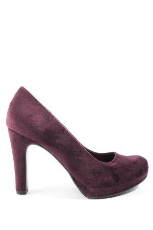 Tamaris High Heels lila Casual-Look