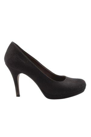 Tamaris High Heels schwarz Motivdruck Casual-Look