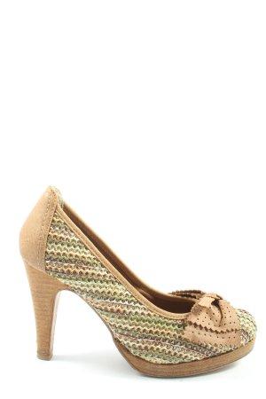 Tamaris High Heels Streifenmuster Casual-Look