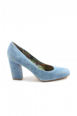 Tamaris High Heels blau Casual-Look