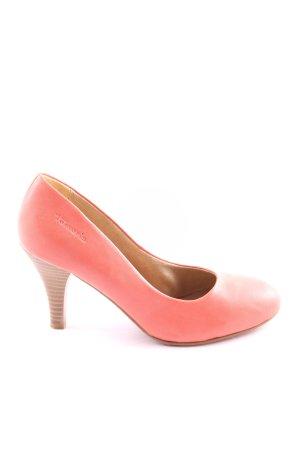 Tamaris High Heels pink-braun Casual-Look