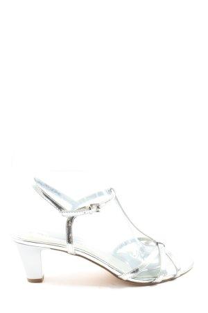 Tamaris High Heels silberfarben Elegant