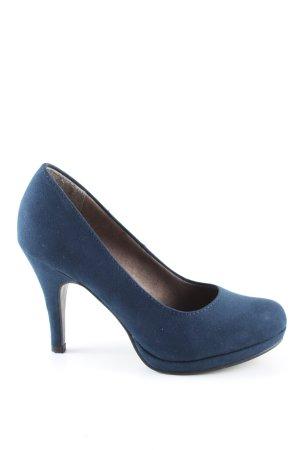 Tamaris High Heels blau Business-Look