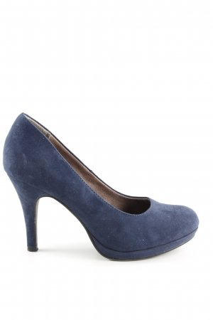 Tamaris High Heels blau Business-Look