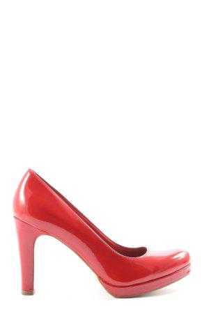 Tamaris Talons hauts rouge élégant