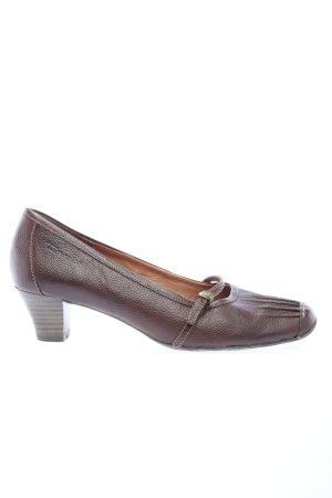 Tamaris High Heels braun Casual-Look