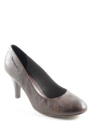 Tamaris High Heels dunkelbraun klassischer Stil