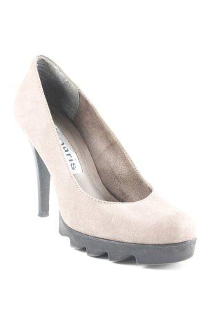 Tamaris High Heels hellbraun-schwarz Elegant