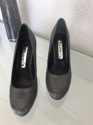 Tamaris High Heels silver-colored-black