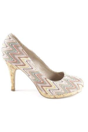 Tamaris High Heels mehrfarbig Stickerei-Detail