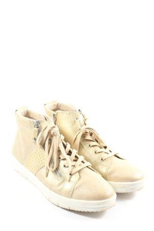 Tamaris High Top Sneaker creme Casual-Look
