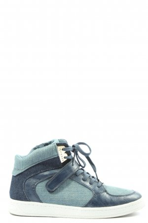 Tamaris High Top Sneaker blau Casual-Look